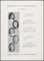 Page 16, 1935 Edition, Brownstown High School - Webb Yearbook (Brownstown, IN) online yearbook collection