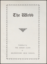 Page 5, 1935 Edition, Brownstown High School - Webb Yearbook (Brownstown, IN) online yearbook collection