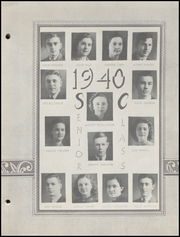 Page 17, 1940 Edition, Brownstown High School - Webb Yearbook (Brownstown, IN) online yearbook collection