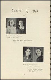 Page 10, 1941 Edition, Brownstown High School - Webb Yearbook (Brownstown, IN) online yearbook collection