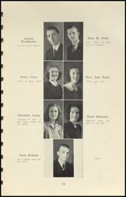 Page 15, 1941 Edition, Brownstown High School - Webb Yearbook (Brownstown, IN) online yearbook collection