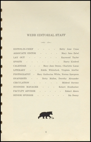 Page 7, 1941 Edition, Brownstown High School - Webb Yearbook (Brownstown, IN) online yearbook collection