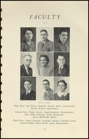 Page 9, 1941 Edition, Brownstown High School - Webb Yearbook (Brownstown, IN) online yearbook collection