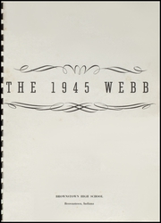 Page 3, 1945 Edition, Brownstown High School - Webb Yearbook (Brownstown, IN) online yearbook collection