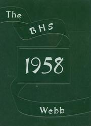 1958 Edition, Brownstown High School - Webb Yearbook (Brownstown, IN)
