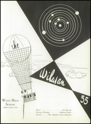 Page 5, 1955 Edition, Wiley High School - Wileyan Yearbook (Terre Haute, IN) online yearbook collection