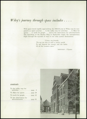 Page 6, 1955 Edition, Wiley High School - Wileyan Yearbook (Terre Haute, IN) online yearbook collection