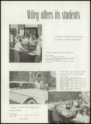 Page 12, 1957 Edition, Wiley High School - Wileyan Yearbook (Terre Haute, IN) online yearbook collection