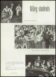 Page 16, 1957 Edition, Wiley High School - Wileyan Yearbook (Terre Haute, IN) online yearbook collection