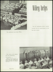 Page 8, 1957 Edition, Wiley High School - Wileyan Yearbook (Terre Haute, IN) online yearbook collection