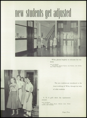 Page 9, 1957 Edition, Wiley High School - Wileyan Yearbook (Terre Haute, IN) online yearbook collection