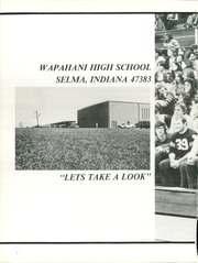 Page 6, 1977 Edition, Wapahani High School - Legend Yearbook (Selma, IN) online yearbook collection