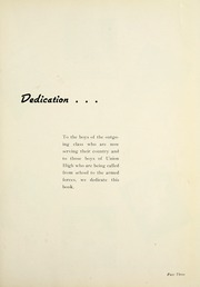 Page 9, 1944 Edition, West Side High School - Successus Yearbook (Union City, IN) online yearbook collection