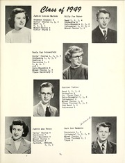 Page 17, 1949 Edition, West Side High School - Successus Yearbook (Union City, IN) online yearbook collection