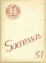 Page 1, 1951 Edition, West Side High School - Successus Yearbook (Union City, IN) online yearbook collection