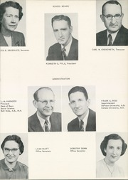 Page 7, 1953 Edition, West Side High School - Successus Yearbook (Union City, IN) online yearbook collection