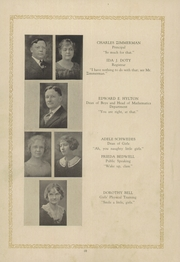 Page 14, 1925 Edition, Garfield High School - Benedictus Yearbook (Terre Haute, IN) online yearbook collection