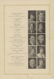 Page 15, 1925 Edition, Garfield High School - Benedictus Yearbook (Terre Haute, IN) online yearbook collection