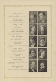 Page 17, 1925 Edition, Garfield High School - Benedictus Yearbook (Terre Haute, IN) online yearbook collection