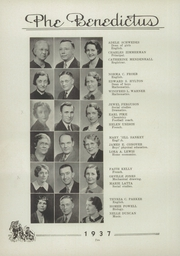 Page 14, 1937 Edition, Garfield High School - Benedictus Yearbook (Terre Haute, IN) online yearbook collection
