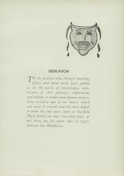 Page 9, 1937 Edition, Garfield High School - Benedictus Yearbook (Terre Haute, IN) online yearbook collection