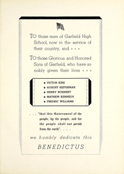 Page 11, 1943 Edition, Garfield High School - Benedictus Yearbook (Terre Haute, IN) online yearbook collection