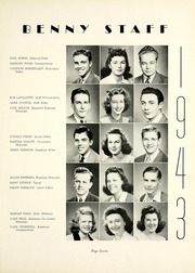 Page 15, 1943 Edition, Garfield High School - Benedictus Yearbook (Terre Haute, IN) online yearbook collection
