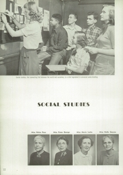 Page 14, 1952 Edition, Garfield High School - Benedictus Yearbook (Terre Haute, IN) online yearbook collection