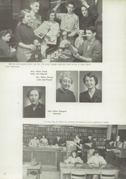 Page 15, 1952 Edition, Garfield High School - Benedictus Yearbook (Terre Haute, IN) online yearbook collection
