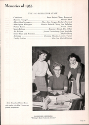 Page 17, 1953 Edition, Whiting High School - Reflector Yearbook (Whiting, IN) online yearbook collection