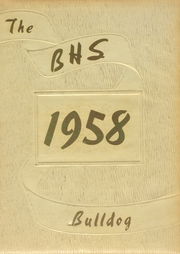 1958 Edition, Batesville High School - Bulldog Yearbook (Batesville, IN)