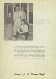 Page 10, 1956 Edition, Bremen High School - Sprig O Mint Yearbook (Bremen, IN) online yearbook collection