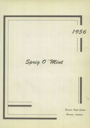 Page 5, 1956 Edition, Bremen High School - Sprig O Mint Yearbook (Bremen, IN) online yearbook collection