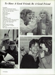 Page 12, 1982 Edition, Northeastern High School - Lance Yearbook (Fountain City, IN) online yearbook collection