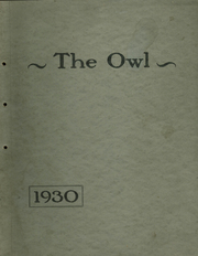 Page 1, 1930 Edition, Bloomfield High School - Owl Yearbook (Bloomfield, IN) online yearbook collection