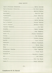 Page 15, 1954 Edition, Rockville High School - Saxum Yearbook (Rockville, IN) online yearbook collection
