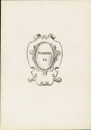 Page 3, 1925 Edition, Bedford High School - Pioneer Yearbook (Bedford, IN) online yearbook collection