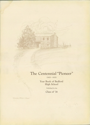 Page 7, 1926 Edition, Bedford High School - Pioneer Yearbook (Bedford, IN) online yearbook collection