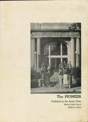 Page 3, 1941 Edition, Bedford High School - Pioneer Yearbook (Bedford, IN) online yearbook collection