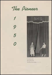 Page 7, 1950 Edition, Bedford High School - Pioneer Yearbook (Bedford, IN) online yearbook collection
