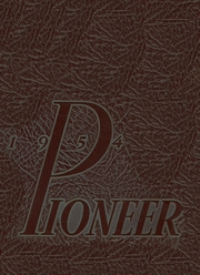 1954 Edition, Bedford High School - Pioneer Yearbook (Bedford, IN)