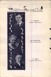 Page 12, 1925 Edition, Attica High School - Crimson Yearbook (Attica, IN) online yearbook collection