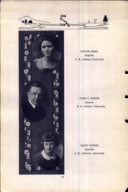 Page 16, 1925 Edition, Attica High School - Crimson Yearbook (Attica, IN) online yearbook collection
