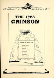 Page 7, 1928 Edition, Attica High School - Crimson Yearbook (Attica, IN) online yearbook collection