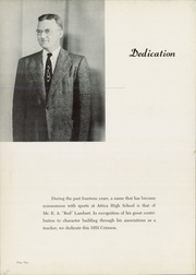Page 6, 1953 Edition, Attica High School - Crimson Yearbook (Attica, IN) online yearbook collection