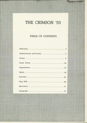 Page 5, 1955 Edition, Attica High School - Crimson Yearbook (Attica, IN) online yearbook collection