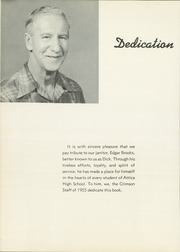 Page 6, 1955 Edition, Attica High School - Crimson Yearbook (Attica, IN) online yearbook collection