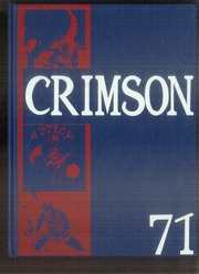 1971 Edition, Attica High School - Crimson Yearbook (Attica, IN)
