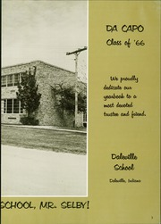 Page 7, 1966 Edition, Daleville High School - Da Capo Yearbook (Daleville, IN) online yearbook collection