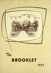 Page 1, 1957 Edition, Brookville High School - Brooklet Yearbook (Brookville, IN) online yearbook collection